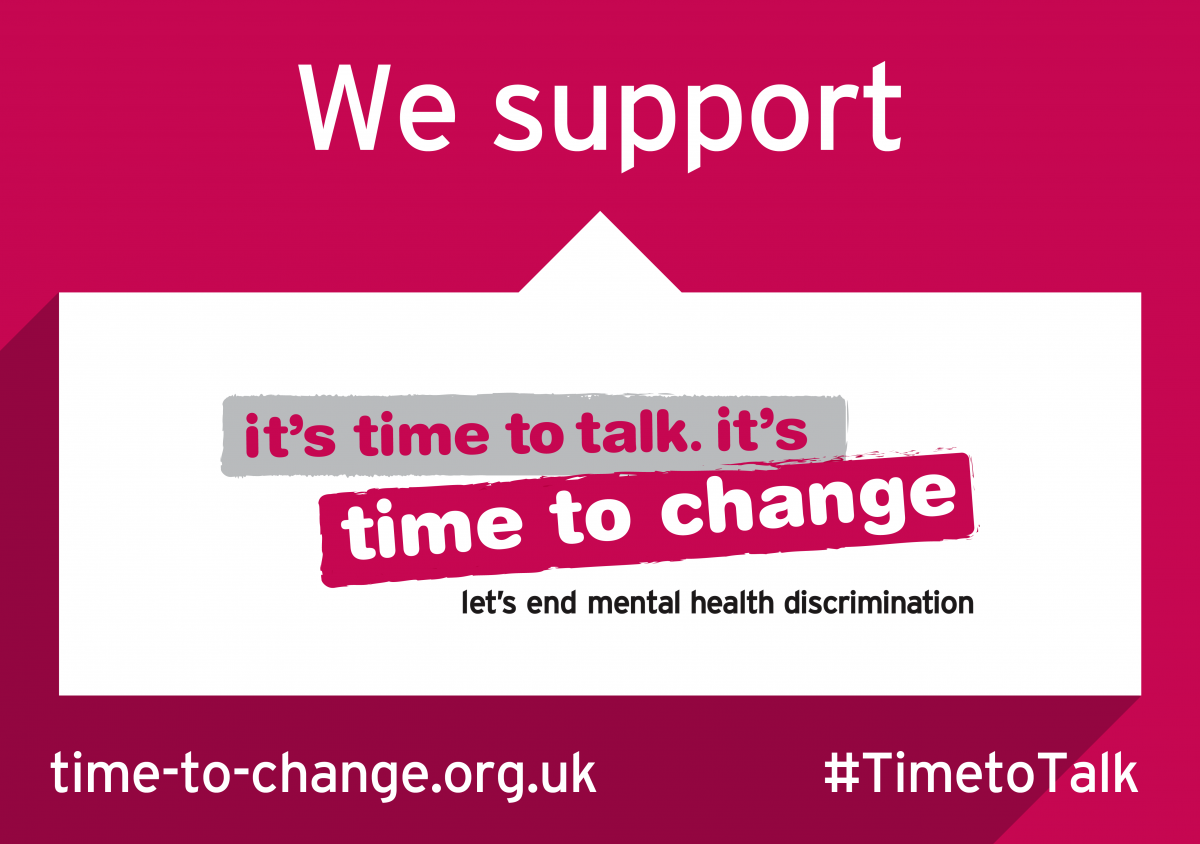 Time to Talk Day - Time to Change